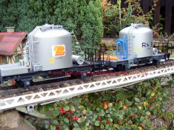 LGB 49250 RhB Cement Car Set Ltd