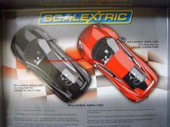 Scalextric C3171A Ltd Edition Dual McLarens