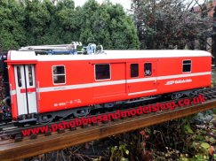 LGB 30692 Rhb Baggage Car with pantograph