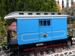 LGb 31052 Lake George and Boulder Baggage car.