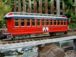 Bachmann 97381 Circus Observation Car