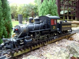 Bachmann 81294 Yellow Pine 2-8-0