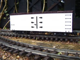 Bachmann 93270 Reefer Painted White