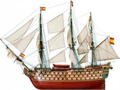Artesania 22905 Spanish Galleon Santa Ana
