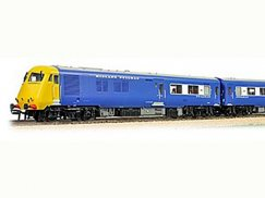 Bachmann 31256 Blue Pullman Yellow ends