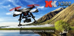 XK 380C Drone with Camera