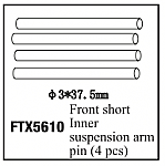FTX 5610 Suspension Outer pins